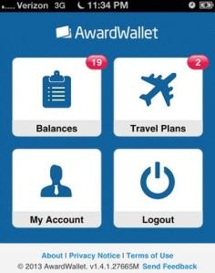 O AwardWallet oferece uma vista detalhada de qualquer programa de recompensa cadastrado (Foto: Divulgação)